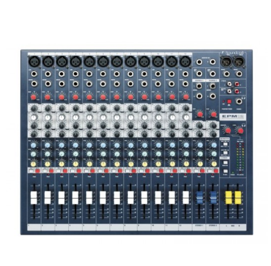 Soundcraft Signature 10, Mezclador 10 Canales con efectos